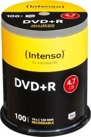 Intenso DVD+R 4.7GB 16x, 100er Spindel (4111156)