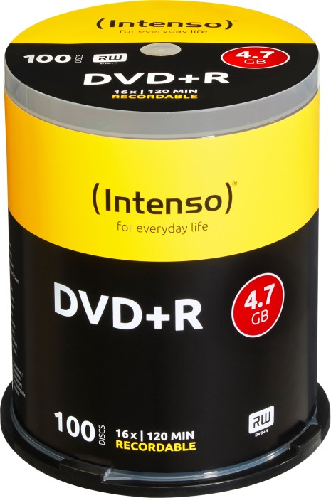 Intenso DVD+R 4.7GB 16x, 100er Spindel (4111156)
