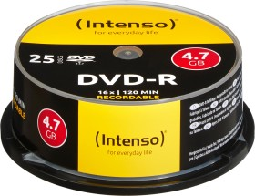Intenso DVD-R 4.7GB 16x, 25-pack Spindle (4101154)