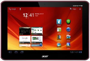 Acer Iconia Tab A200 16GB red (XE.H8XEN.001/XE.H8QEN.003)