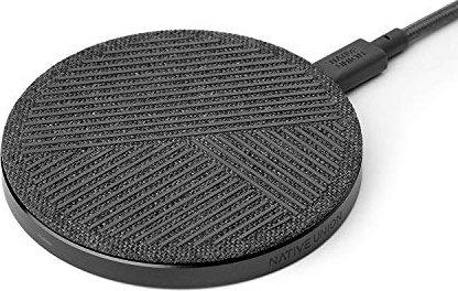 Native Union Drop Wireless Charger slate gray (DROP-GRY-FB-V2) -- via Amazon Partnerprogramm