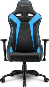 Sharkoon Elbrus 3 Gamingstuhl, schwarz/blau