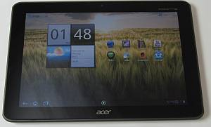 Acer Iconia Tab A200 16GB grau, Android 3.2 (XE.H8QEN.001) -- © tabtech.de