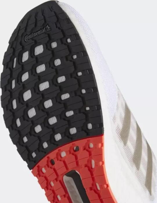 adidas Ultra Boost SUMMER.RDY Cloud White Core Black Solar Red Laufschuhe Weiß