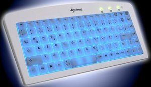 Sharkoon Luminous keyboard, PS/2, DE