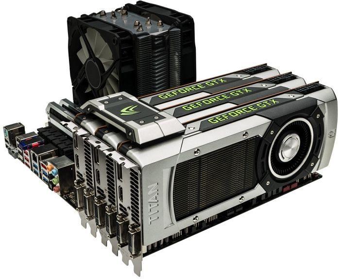 ASUS GeForce GTX Titan, GTXTITAN-6GD5, 6GB GDDR5, 2x DVI, HDMI, DisplayPort (90YV03Y0-U0NA00)
