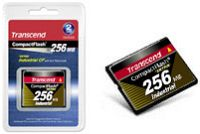 Transcend Industrial Ultra 100x CompactFlash Card 256MB (TS256MCF100I)