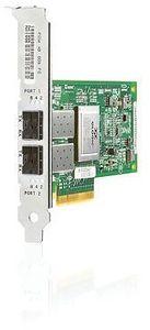 HP 82Q, 2x LC-Duplex/Fibre Channel, PCIe 2.0 x8 (AJ764A)