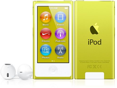 Apple iPod nano 16GB yellow (7G) (MD476*/A) (Late 2012)