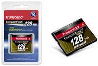 Transcend Industrial Ultra 100x CompactFlash Card 128MB (TS128MCF100I)