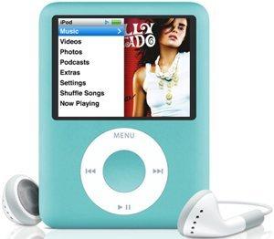Apple iPod nano 8GB niebieski (3G) (MB249*/A)