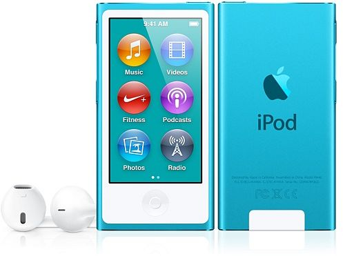 Apple iPod nano 16GB blue (7G) (MD477*/A) (Late 2012)