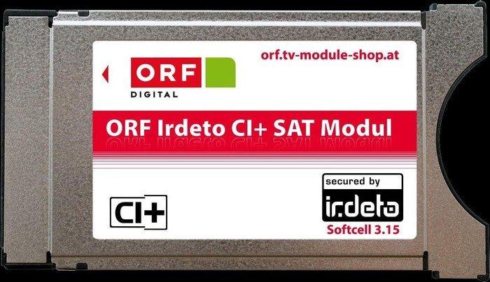 ORF Irdeto CI+-Modul, ORF-zertifiziert