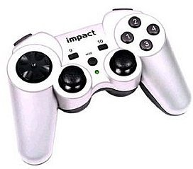 Saitek X6-38V Dual analogowy Rumble Gamepad, USB (PC)