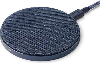 Native Union Drop Wireless Charger indigo blue (DROP-IND-FB-V2) -- via Amazon Partnerprogramm