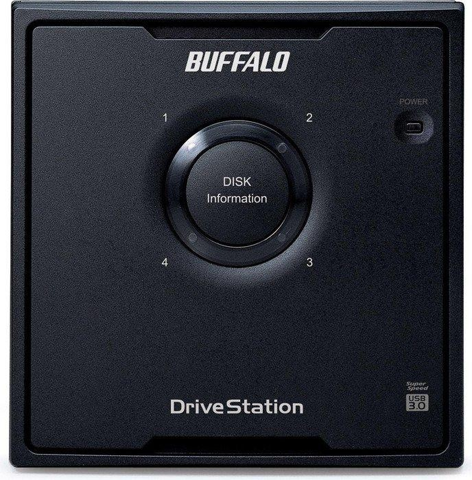 Buffalo DriveStation Quad HD-QLSU2R5  4TB, USB 2.0/eSATA 3Gb/s (HD-QL4TSU2R5-EU)