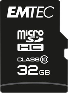 Emtec Classic R20/W12 microSDHC 32GB 3in1 Kit, Class 10 (ECMSDM32GHC10CGRA2)
