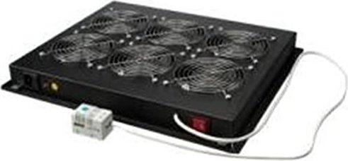 Triton Lüfterblech für Boden/Dach, 6 Ventilatoren schwarz (RAB-CH-X05-X3) -- via Amazon Partnerprogramm