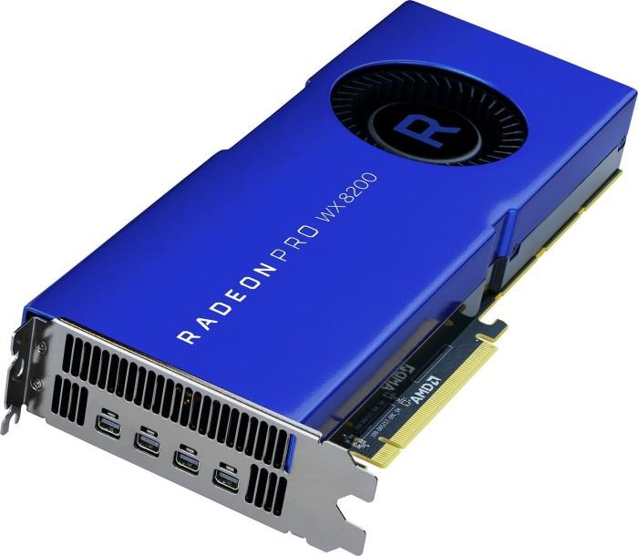 AMD Radeon Pro WX 8200, 8GB HBM2, 4x mDP (100-505956)