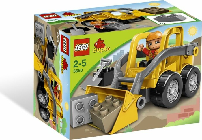 LEGO DUPLO Baustelle - Frontlader (5650) -- via Amazon Partnerprogramm