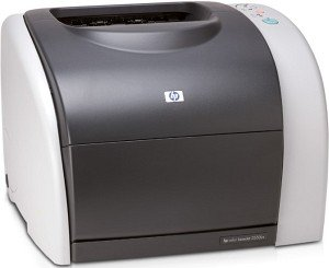 HP colour LaserJet 2550N, colour laser (Q3704A)