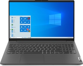 Lenovo IdeaPad 5 15ITL05 Graphite Grey, Core i5-1135G7, 8GB RAM, 512GB SSD, Fingerprint-Reader, beleuchtete Tastatur, IPS, Windows 10 Home, Aluminium bottom (82FG00NKGE)