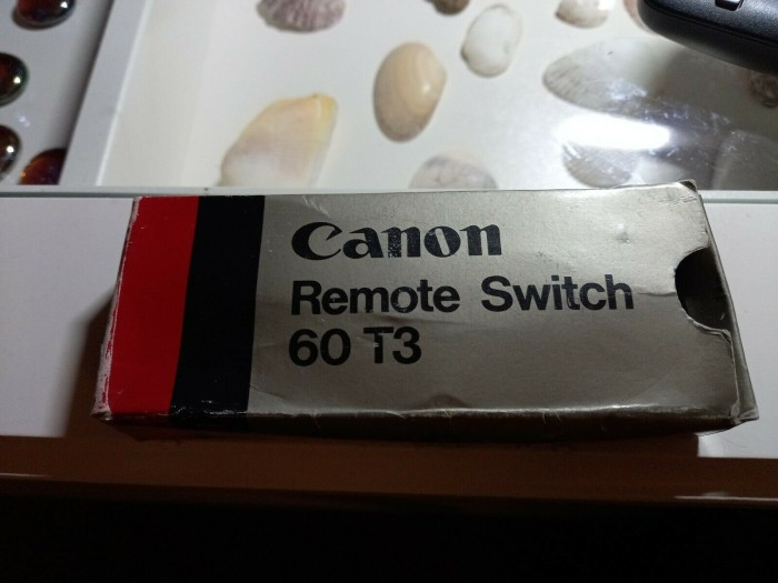 Canon RS-60T3 wired remote release (2393A001) -- via Amazon Partnerprogramm