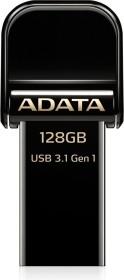 ADATA i-Memory AI920 schwarz 128GB, USB-A 3.0/Lightning (AAI920-128G-CBK)