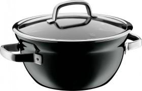 WMF Fusiontec Mineral Kochschüssel 24cm schwarz (05.1932.5290)