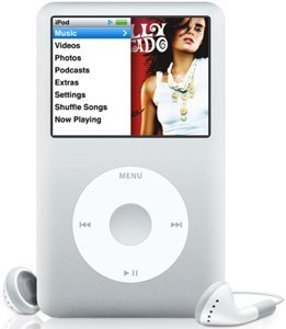 Apple iPod classic 160GB silber (MB145*/A)