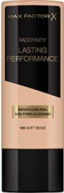 Max Factor Lasting Performance Foundation 105 Soft Beige, 35ml