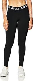 Nike Pro Leggings Hose lang schwarz/weiß (Damen) (CZ9779-010)
