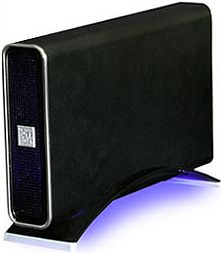 "RaidSonic Icy Box IB-361STUS-B-BL schwarz, 3.5"", USB-B 2.0/eSATA (20431)"