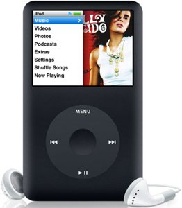 Apple iPod classic 160GB schwarz (MB150*/A)