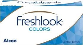Alcon FreshLook Colors Farblinse sapphire blue, +6.00 Dioptrien, 2er-Pack