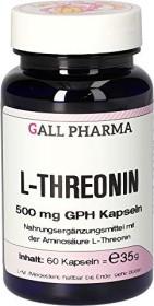 L-Threonin 500mg GPH Kapseln, 60 Stück