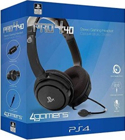 4Gamers Pro4-40 Stereo Gaming Headset schwarz