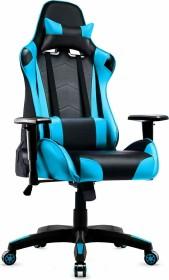 IntimaTe WM Heart Racersedia 3 Gamingstuhl, schwarz/blau