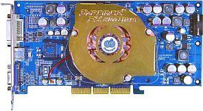 Chaintech CT-SA5700U, GeForceFX 5700 Ultra, 128MB DDR2, DVI, TV-out, AGP