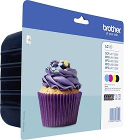 Brother ink LC123VAL value pack (LC123VALBPDR)