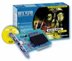 Elsa Gladiac 511TWIN, GeForce2 MX/400, 32MB, Dual display, TV-out, AGP, Bulk (60379)