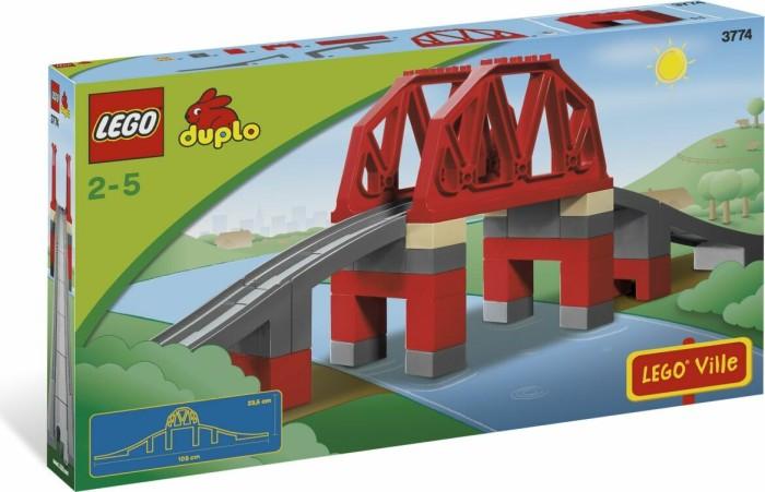 LEGO DUPLO Eisenbahn - Eisenbahnbrücke (3774) -- via Amazon Partnerprogramm
