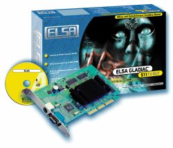 Elsa Gladiac 511TV-OUT, GeForce2 MX/400, 32MB, TV-out, AGP, Bulk (60274)