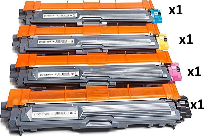 Kompatibler Toner zu Brother TN-241BK/TN-245CMY Rainbow Kit -- via Amazon Partnerprogramm