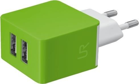 Trust Urban Revolt 5W Wall Charger 2-Port grün (20150)