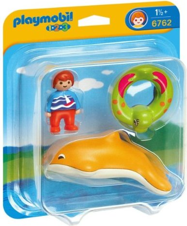 playmobil - 1.2.3 - Child with Dolphin (6762) -- via Amazon Partnerprogramm