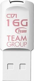 TeamGroup C171 weiß 16GB, USB-A 2.0 (TC17116GW01)