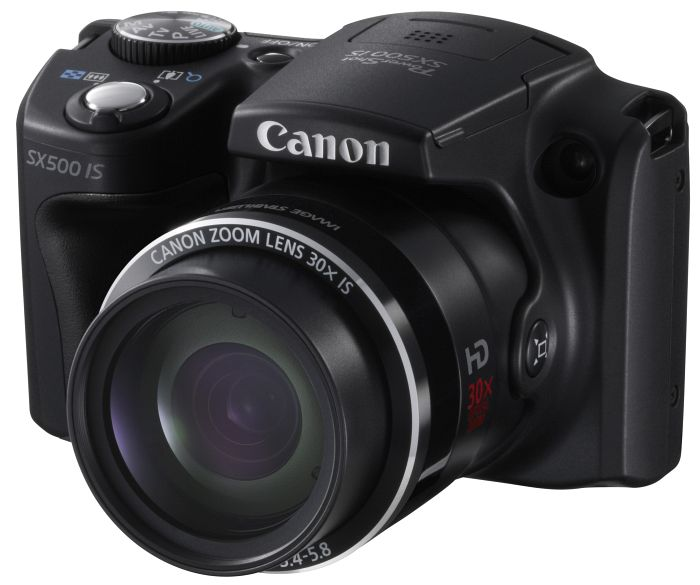 Canon PowerShot SX500 IS schwarz (6353B009)
