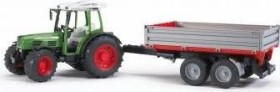 Bruder Professional Series Fendt 209 S with Tipping Trailer (02104)
