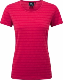 Mountain Equipment Stripe Shirt kurzarm virtual pink stripe (Damen) (ME-001554-ME-01449)